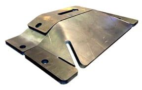 TireShark™-5000-SpikeZilla™-Surface-Mount-Traffic-Spikes-Military-Grade-4in.-Deck-Traffic-Spike-End-Cap