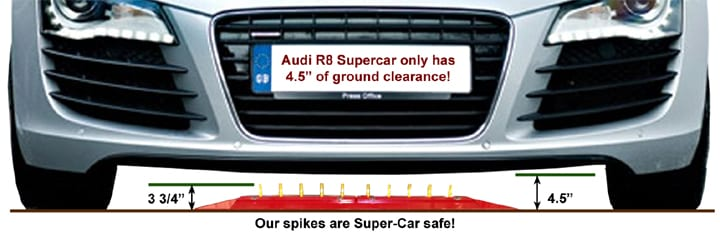 TireShark™-Surface-Mount-Traffic-Spikes-Safe-for-Low-Clearance-Vehicles